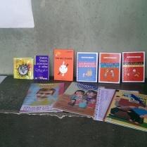 Des livres, des jeux et des couleurs...